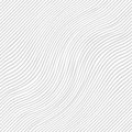 Striped wavey texture. Seamless vector background.
