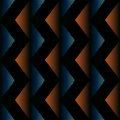 Striped zigzag seamless background pattern Royalty Free Stock Photo