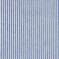 Stripes fabric closeup tablecloth texture blue and white Stock Photo