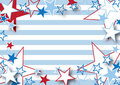 Stripes and Stars Royalty Free Stock Images