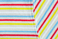 Stripey material colorful as a background image Royalty Free Stock Photos