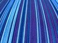 Stripey vintage fabric Stock Photos