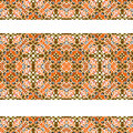 Stripped decorative seamless pattern luxury modern baroque ornament abstract in warm and white colors Stock Image