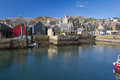 Stromness harbour orkney s second most populated town Stock Photo