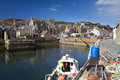Stromness orkney s second most populated town Stock Images