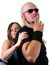 Strong couple Stock Photography