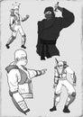 Strong ninja draw