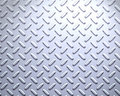 strong Steel diamond plate Royalty Free Stock Photo