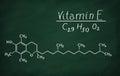 Structural model of Vitamin E