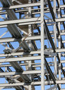 Structural Steelwork Construction Stock Images