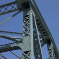 Structure of a bridge Royalty Free Stock Images