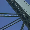 Structure of a bridge Stock Photos