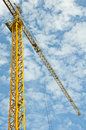 Structure de grue Photo stock