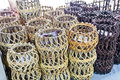 Structure of Rattan use Royalty Free Stock Image
