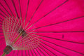 Structure under a pink umbrella background in design and retouching Royalty Free Stock Photo