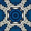 Structured mandala Royalty Free Stock Image
