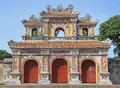 Structures of Hue Citadel Complex Royalty Free Stock Photo