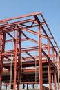 Struktury stali Fotografia Stock