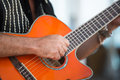 Strumming Royalty Free Stock Photo