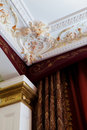 Stucco on the ceiling Stock Photos