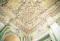 Stucco ceilings in the moika palace st petersburg russia Stock Photo