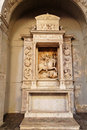 Stucco in San Lorenzo Church Sicily Italy Stock Photography