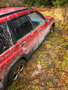 Stuck SUV Stock Image