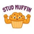 Stud Muffin illsutration