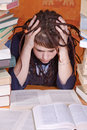Student with books Royalty Free Stock Images