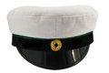 Student cap swedish isolated front view on white background Stock Images