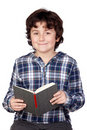 Student child with a book Stock Photo