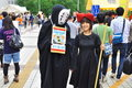 Student Cosplay in University Tsukuba Festival Stock Photography