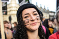 Student demonstration for free education – no cuts no fees n london uk th november hundreds of at parliament square demand a Stock Photo