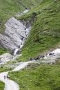 Student excursion in Koednitz Valley, Austria Royalty Free Stock Photo
