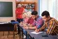Student Group Write Test, Prof...