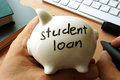 Student loan. Royalty Free Stock Photo