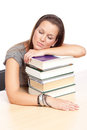 Student nap Royalty Free Stock Photography
