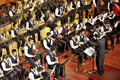 Student symphonic band Royalty Free Stock Photo