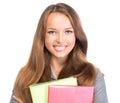 Studente girl portrait Immagine Stock Libera da Diritti