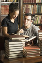 Students With Books - Vertical Stock Photography