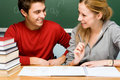 Students in classroom Royalty Free Stock Photography