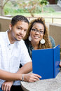 Students couple Royalty Free Stock Images