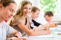 Študenti v sústredenie