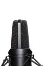 Studio Condenser Microphone Royalty Free Stock Photography
