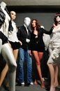 Studio mannequin man and lady in Royalty Free Stock Images