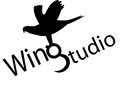 Studio name is isolated company wing Stock Photos