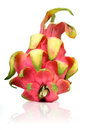 Studio shot of dragon fruit Royalty Free Stock Photo