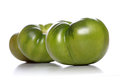 Studio shot of green tomato Royalty Free Stock Photo