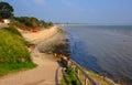 Studland beach Dorset England UK near Sandbanks Royalty Free Stock Photo