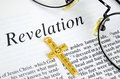Study the bible concept of religion and faith Stock Image